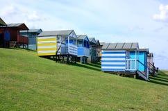 Beach huts in Tenderton Royalty Free Stock Photos