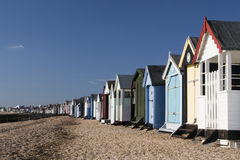Beach Huts, Thorpe Bay Royalty Free Stock Image