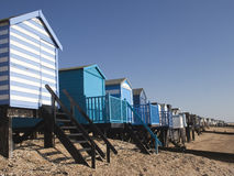 Beach Huts, Thorpe Bay Stock Image