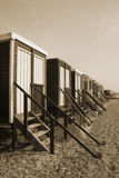 Beach Huts, Thorpe Bay Stock Photography