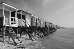 Beach Huts, Thorpe Bay Royalty Free Stock Photography