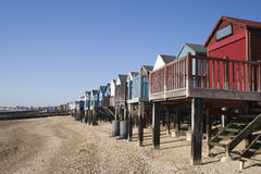 Beach Huts, Thorpe Bay, Essex, England Stock Photo