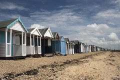 Beach Huts, Thorpe Bay, Essex, England Stock Photography