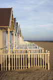 Beach Huts, West Mersea Stock Images