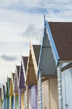 Beach Huts at West Mersea Royalty Free Stock Photos