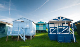 Beach huts , Whitstable Royalty Free Stock Photo