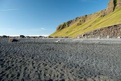 Beach in Iceland Royalty Free Stock Photos