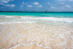 Beach and Idyllic Sea Stock Images