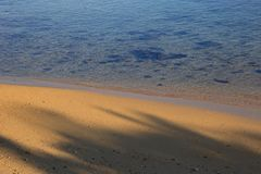 Beach image for background use Royalty Free Stock Photography