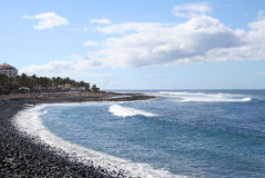 Free Beach In Los Christianos Royalty Free Stock Photos - 9119098