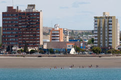Free Beach In Puerto Madryn Patagonia Argentina Stock Photography - 69012462
