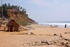 Beach in India Stock Photos