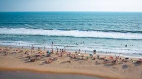 Beach on the Indian Ocean Stock Photo