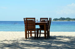 Beach in Indonesia Royalty Free Stock Photography