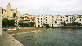 Beach Inlet at Cadaques Royalty Free Stock Photos