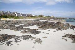Beach on Iona Stock Image