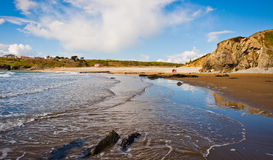 Beach in Ireland Stock Photography