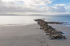 Beach in Ireland Stock Images