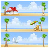 Beach of island Stock Photography