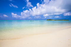 Beach and island Royalty Free Stock Images