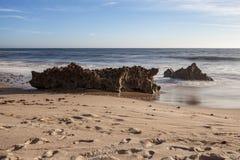 Beach of the Island, Alentejo. stock photography