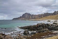 Beach of island Andoya Royalty Free Stock Photos