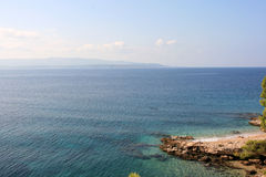 Beach on the island of Brac Royalty Free Stock Photos