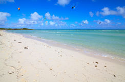 Beach on the island of Cayo Guillermo. Royalty Free Stock Image