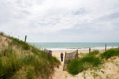 Beach island de Oleron France Royalty Free Stock Image