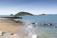 Beach on the island of Herm, UK Stock Photography
