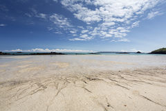 Beach on the island of Herm, UK Royalty Free Stock Images