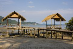 Beach on the island of Koh Chang Royalty Free Stock Photography