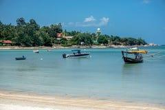 Beach on the island of Koh Samui. Thailand - eastern coast stock images