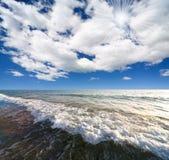 Beach on island Margarita Stock Photography