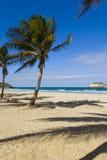 Beach on island Margarita Stock Images
