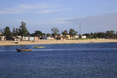 Beach of Island of Mozambique, Royalty Free Stock Photography