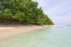Beach on island, Panama Stock Images