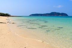 Beach island in pattaya Royalty Free Stock Photography