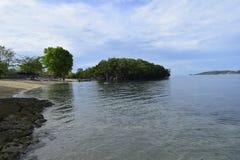 Beach island Stock Image