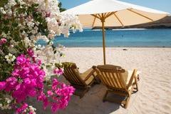 The beach on the island of Sebayur, Indonesia Stock Photos
