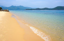 Beach on the island. Vietnam. Stock Photo