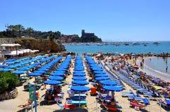 Beach in Italy Royalty Free Stock Photos
