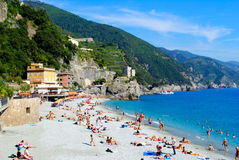 A Beach in Italy Royalty Free Stock Photos