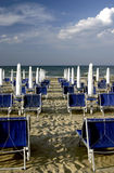 Beach  in Italy Royalty Free Stock Photos