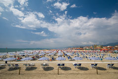 Beach, Italy Royalty Free Stock Photography