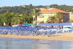 Beach in Italy Stock Photos