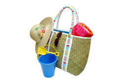 Beach Items Stock Photos
