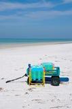 Beach Items Royalty Free Stock Image