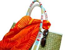 Beach Items Isolated Royalty Free Stock Photo