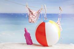Beach items ,natural spa resort Stock Photography